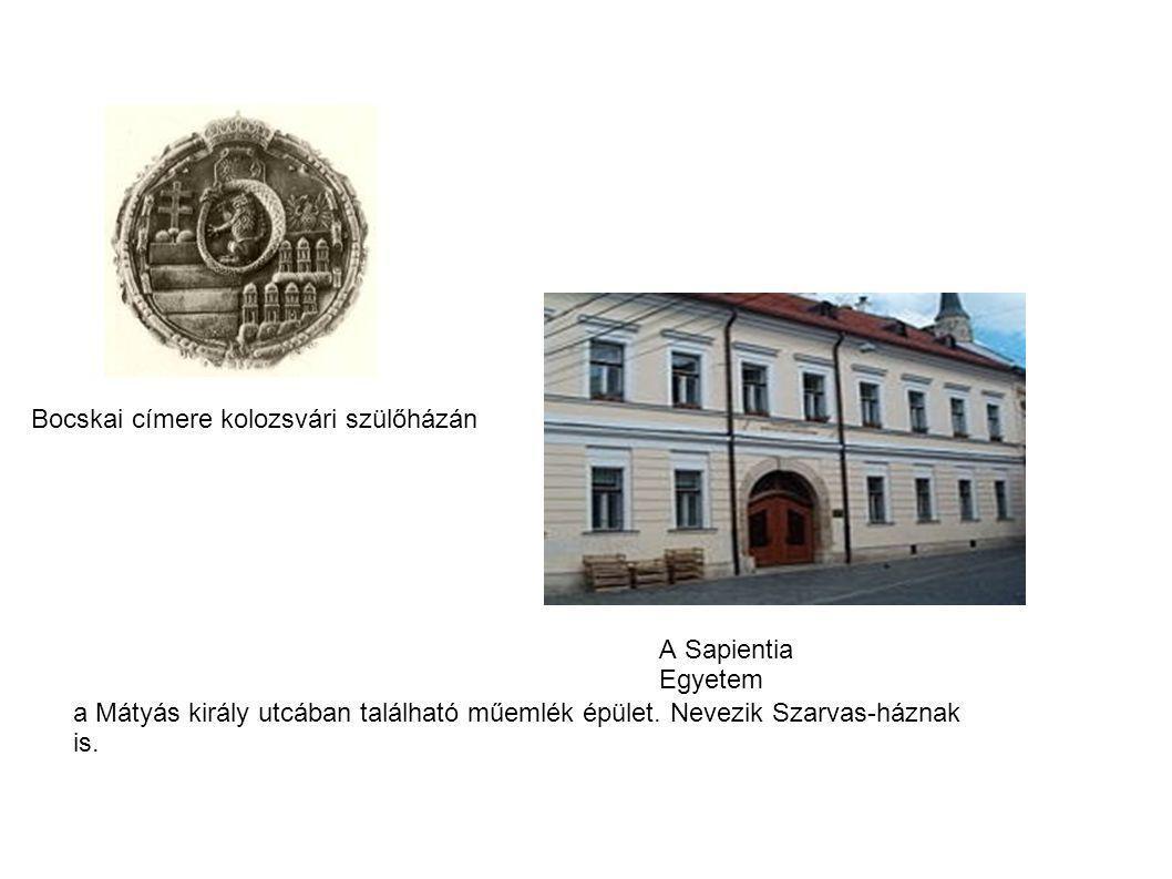 Itt született 1557. január 1-jén Bocskai István erdélyi fejedelem, emléktáblája a kapun belül található. A címeres emléktáblát 1606. október 25-én, röviddel a fejedelem halála előtt a városi tanács helyeztette el, rajta a humanista Bocatius János verse áll. Szokták még Eppel-ház néven is említeni, mivel a 17. században a ház Eppel János unitárius lelkipásztor tulajdonába került, aki Heltai Gáspár veje volt. A szájhagyomány szerint itt működött Heltai Gáspár nyomdája, de ennek nincs történelmi alapja.[1] A 17. század során a ház több kézen is megfordult, majd a 18. század végén gróf Teleki József főkormányszéki tanácsos az eredetileg két középkori ház helyére építtette a ma Bocskai-ház néven ismert épületet. 1843-ban gróf Bethlen Gábor emeletet építtetett a házra.